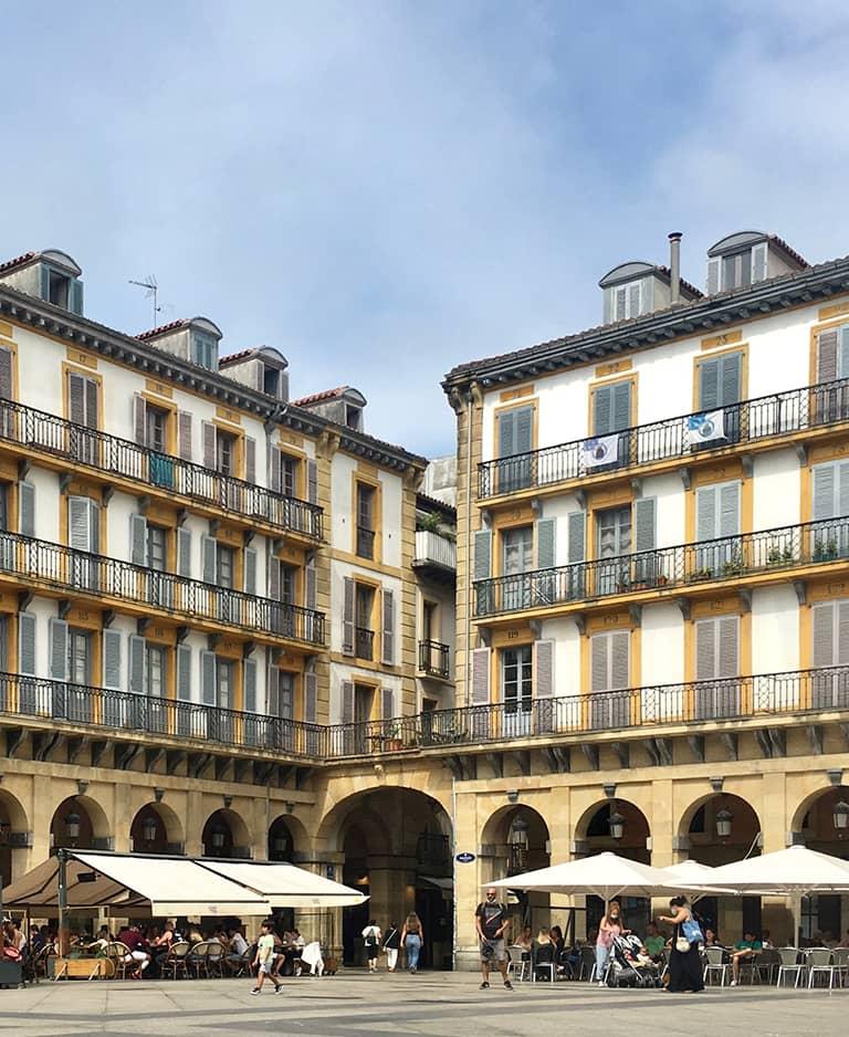 Plaza de la Constitución - Parte Vieja - Donostia